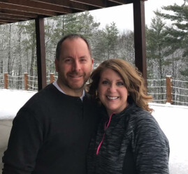 Jim and Lori