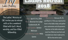 Ladies Retreat 2018