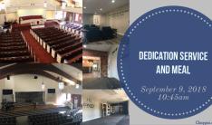 Dedication Service