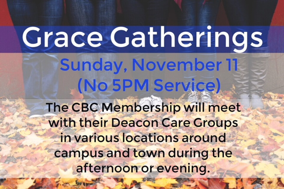 Deacon Care Group Grace Gatherings