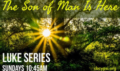 The Son of Man is Here