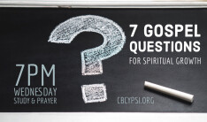 7 Gospel Questions for Spiritual Growth