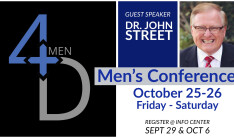 4D Men's Conference 2019 - Oct 25 2019 6:30 PM
