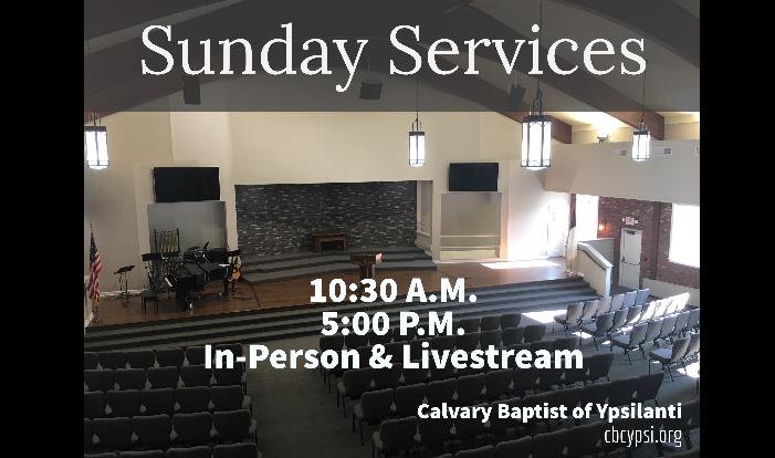 2021 Sunday Services