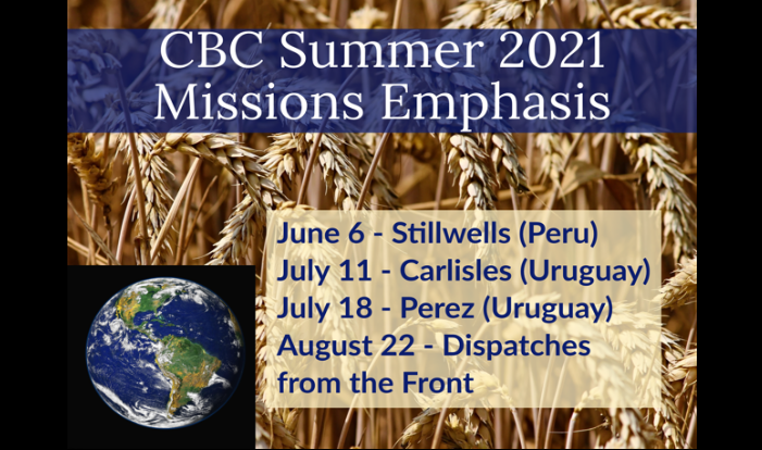 Summer Missions Events 2021