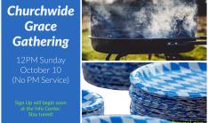 Churchwide Grace Gathering - Oct 10 2021 12:00 PM