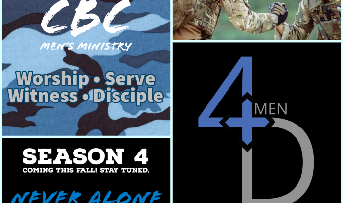 4D Mens' Ministry: Never Alone